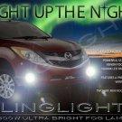 Xenon Halogen Fog Lamps Driving Lights Kit for Mazda BT-50 BT50 Set Foglamps
