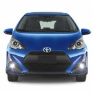 Non-Halo Fog Lights Driving Lamps Fog Lamps Kit for 2017 2018 Toyota Prius c