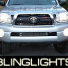 WHITE HALO FOG LIGHTS LAMPS angel eyes for 2005-2010 TOYOTA TACOMA kit
