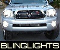 WHITE HALO FOG LIGHTS LAMPS angel eyes for 2005-2010 TOYOTA TACOMA kit