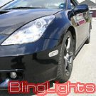 Fog Lamps Lights for 2000-2005 Toyota Celica GTS GT 00-05 gt-s 01 02 03 04