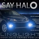 Blue Halo Fog Lamp Light Kit for 2013-2015 Toyota Rav4 Foglamps Foglights