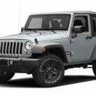 White Halo Fog Lamp Angel Eye Driving Lights for 2007-2017 Jeep Wrangler