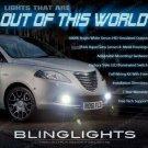 Fog Lamps Driving Lights Kit Set for 2012 2013 2014 2015 Chrysler Lancia Ypsilon