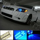 9006 HB4 Red 1800K LED BULBS Bulb headlights headlamps leds
