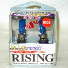 3950K 9005 Rising Automotive Super White 65W= 110W Halogen Light Bulbs Twin Pack