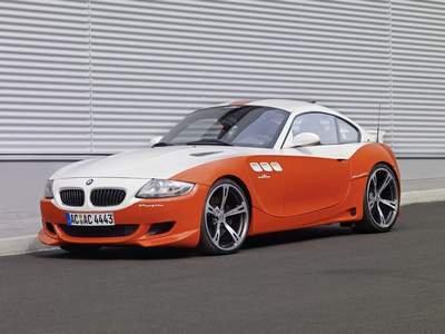"AC Schnitzer BMW Z4 Profile Car Poster Print on 10 mil Archival Satin Paper 16"" x 12"""