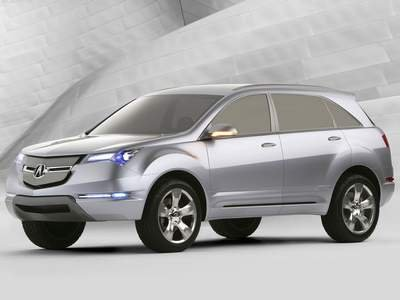 """Acura MD-X Car Poster Print on 10 mil Archival Satin Paper 16"""" x 12"""""""