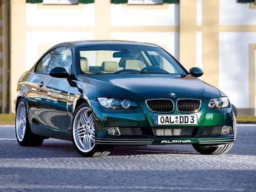 "Alpina BMW D3 Bi-Turbo Coupe Car Poster Print on 10 mil Archival Satin Paper 16"" x 12"""