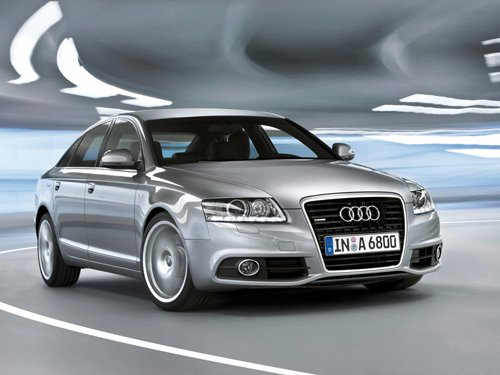 "Audi A6 Car Poster Print on 10 mil Archival Satin Paper 16"" x 12"""