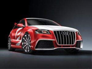 """Audi A3 TDI Clubsport Quattro Car Poster Print 16"""" x 12"""""""