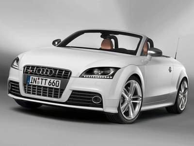 "Audi TTS Roadster Car Poster Print on 10 mil Archival Satin Pape 16"" x 12"""