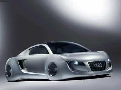 "Audi RSQ Concept Car Poster Print on 10 mil Archival Satin Paper 16"" x 12"""