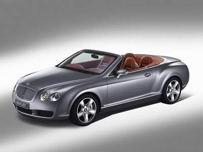 "Bentley Continental GTC Speed Car Poster Print 16"" X 12"""