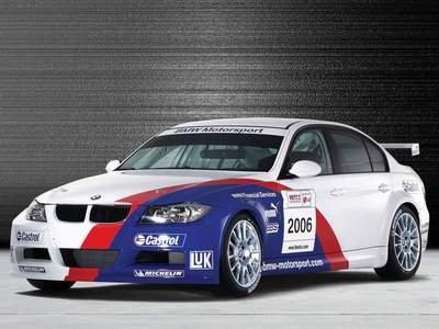 "BMW 320si E90 WTCC Car Poster Print on 10 mil Archival Satin Paper 16"" x 12"""