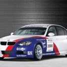 "BMW 320si E90 WTCC Car Poster Print on 10 mil Archival Satin Paper 16"" x 12"""