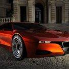 "BMW M1 Concept Car Poster Print on 10 mil Archival Satin Paper 16"" x 12"""