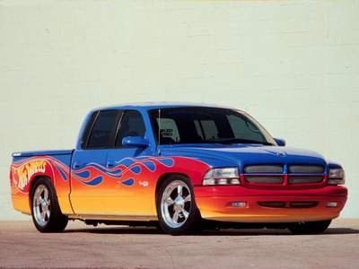 "Dodge Hot Wheels Quad Cab Truck Poster Print on 10 mil Archival Satin Paper 16"" x 12"""
