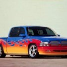 "Dodge Hot Wheels Quad Cab Truck Poster Print on 10 mil Archival Satin Paper 16"" x 12"""