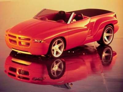 "Dodge Sidewinder Car Poster Print on 10 mil Archival Satin Paper 16"" x 12"""