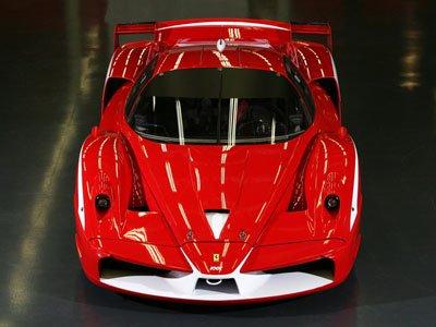 "Ferrari FXX Evolution Car Poster Print on 10 mil Archival Satin Paper 16"" x 12"""