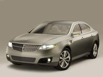 "Lincoln MKS Concept Car Poster Print on 10 mil Archival Satin Paper 16"" x 12"""""
