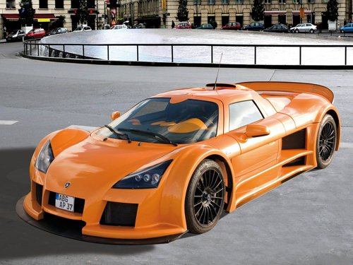 "Gumpert Apollo Sport Car Poster Print on 10 mil Archival Satin Paper 16"" x 12"""