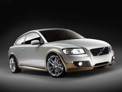 """Volvo C30 Design Car Poster Print on 10 mil Archival Satin Paper 16"""" x 12"""""""