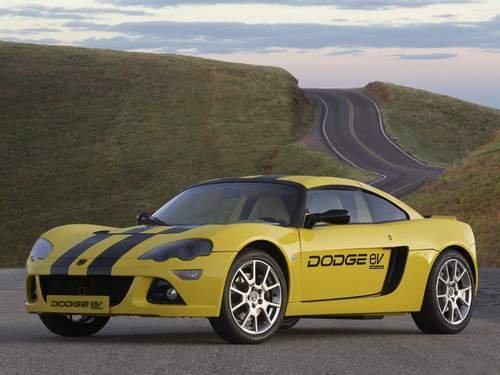 "Dodge EV Concept Car Poster Print on 10 mil Archival Satin Paper 16"" x 12"""