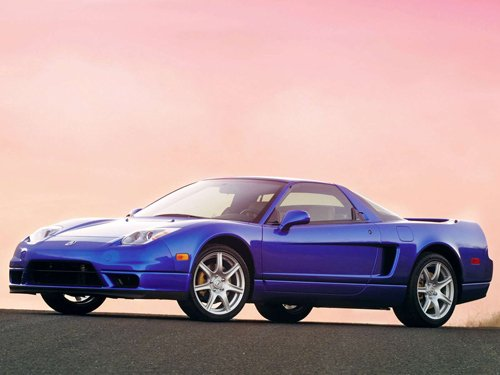 "Acura NSX Car Poster Print on 10 mil Archival Satin Paper 16"" x 12"""