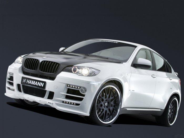 "Hamann BMW X-6 Car Poster Print on 10 mil Archival Satin Paper 16"" x 12"""
