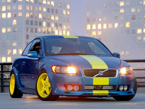 """Volvo IPD C30 Concept Car Poster Print on 10 mil Archival Satin Paper 16"""" x 12"""""""