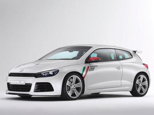 "Volkswagen Scirocco Studie R Concept Car Poster Print on 10 mil Archival Satin Paper 16"" x 12"""