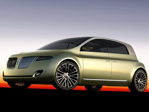 """Lincoln C Concept Car Poster Print on 10 mil Archival Satin Paper 16"""" x 12"""""""""""