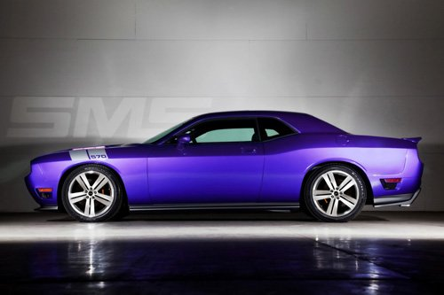 """Dodge Challenger SMS 570 Concept Car Poster Print on 10 mil Archival Satin Paper 16"""" x 12"""""""