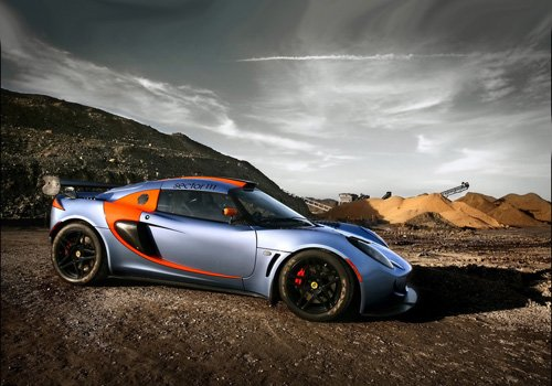 """Lotus Exige Sector 111 Car Poster Print on 10 mil Archival Satin Paper 16"""" x 12"""""""