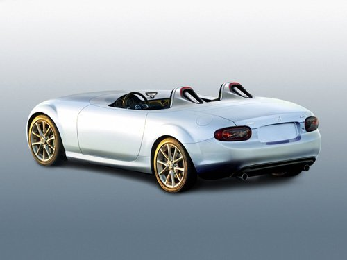 "Mazda MX-5 Superlight Concept Car Poster Print on 10 mil Archival Satin Paper 16"" x 12"""