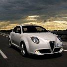 "Alfa Romeo MiTo 1.4 MultiAir Car Poster Print on 10 mil Archival Satin Paper 16"" x 12"""