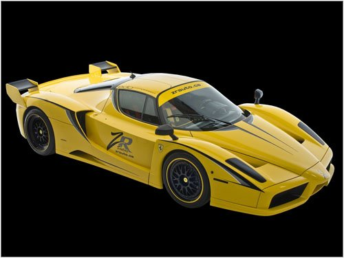 "Edo Ferrari Enzo XX Evolution Car Poster Print on 10 mil Archival Satin Paper 16"" x 12"""