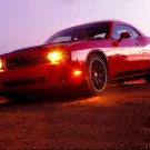 "Speedfactory Dodge Challenger Car Poster Print on 10 mil Archival Satin Paper 16"" x 12"""