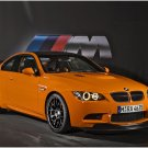 "BMW M3 GTS (2011) Car Poster Print on 10 mil Archival Satin Paper 16"" x 12"""