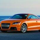 "Audi TTS Coupe Car Poster Print on 10 mil Archival Satin Paper 16"" x 12"""