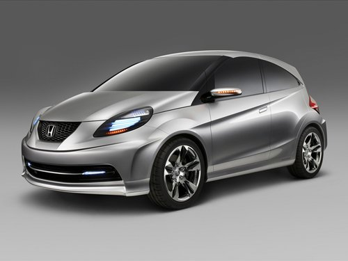 """Honda New Small Concept Car Poster Print on 10 mil Archival Satin Paper 16"""" x 12"""""""