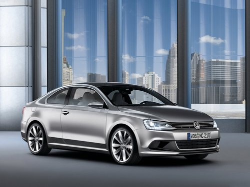 """Volkswagen New Compact Coupe Concept Car Poster Print on 10 mil Archival Satin Paper 16"""" x 12"""""""