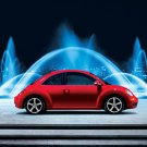 "Volkswagen New Beetle 2010 Car Poster Print on 10 mil Archival Satin Paper 16"" x 12"""