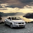 "Volkswagen Eos 2010 Car Poster Print on 10 mil Archival Satin Paper 16"" x 12"""