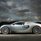 "Bugatti Veyron Car Archival Canvas Print (Rolled) 16"" x 12"""