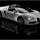 "Bugatti Veyron Grand Sport Car Archival Canvas Print (Rolled) 16"" x 12"""