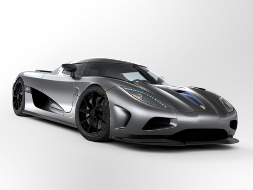 "Koenigsegg Agera (2011) Car Archival Canvas Print (Rolled) 16"" X 12"""