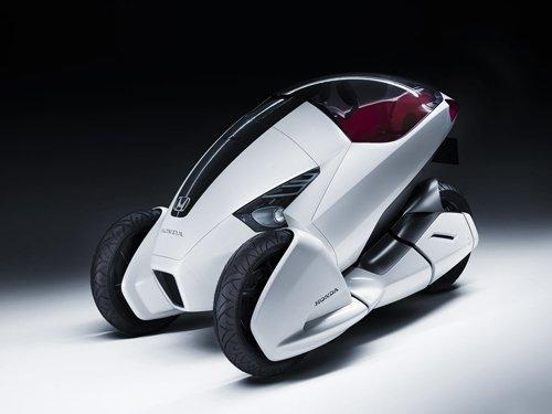 "Honda 3R-C 2010 Concept Car Archival Canvas Print (Rolled) 16"" x 12"""